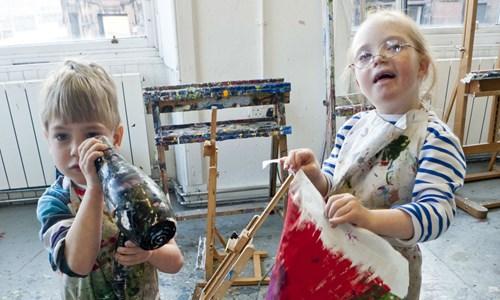 Family Art Workshops (age 5+)