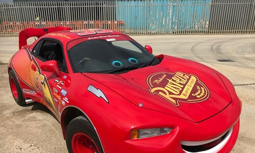 Lightning McQueen - Fan -built Replica