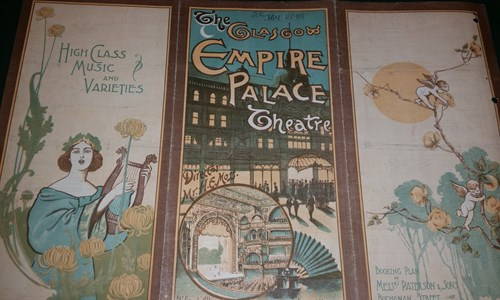 #MitchellCurious: Glasgow Theatre and Music Hall Programmes