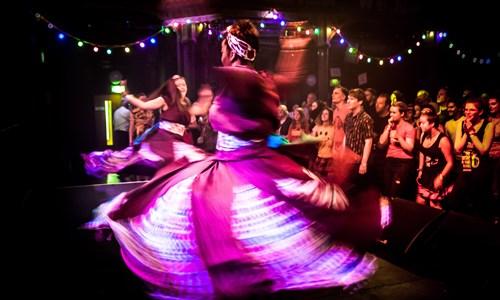 The Encontro Street Band Festival: Festival Club