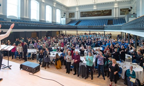 Come and Sing: A dementia inclusive singing event