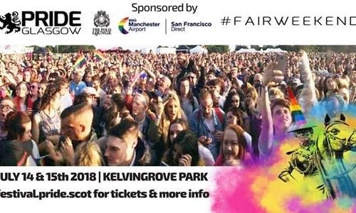 Pride at Kelvingrove