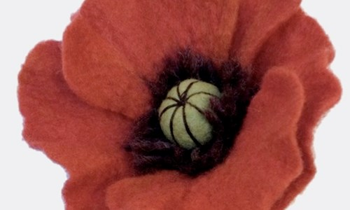 Felt Poppy Jewellery Workshop
