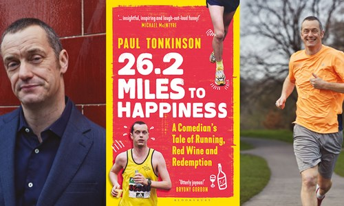 Paul Tonkinson, 26.2 Miles to Happiness