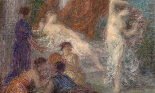 Henri Fantin-Latour's Painting 'The Dance'