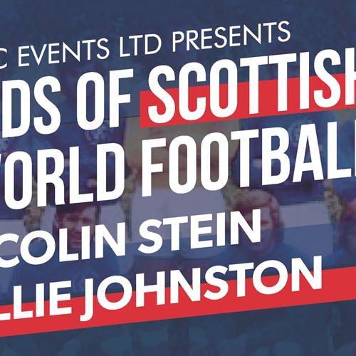 An Evening with Barcelona Bears Colin Stein and Willie Johnston