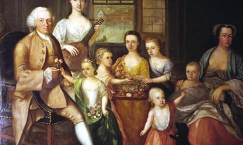 If paintings could talk – the Glassford Family Portrait and the story it tells