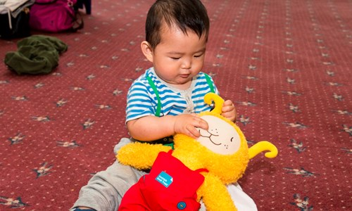 Bookbug At Glasgow Libraries (0-18 months Session)
