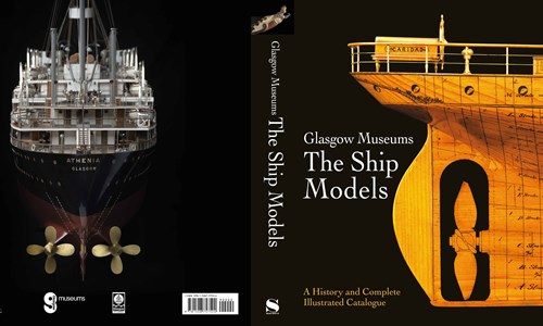 First complete illustrated book of all 676 internationally important ship models published