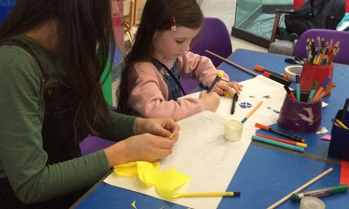 Saturday Art Club: Drawing in Colour