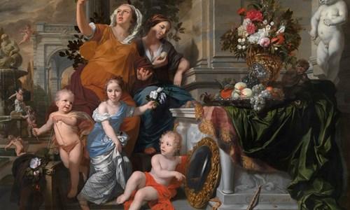Gerard de Lairesse's painting, 'The Five Senses'