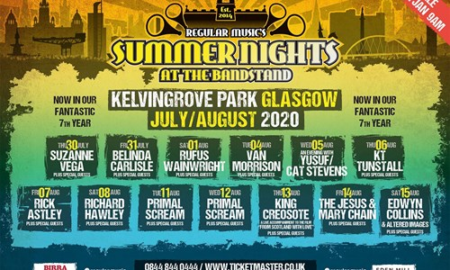 Summer Nights At The Bandstand - Rick Astley