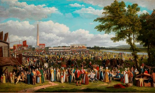 Glasgow Fair at the People's Palace - Stalls and Shops