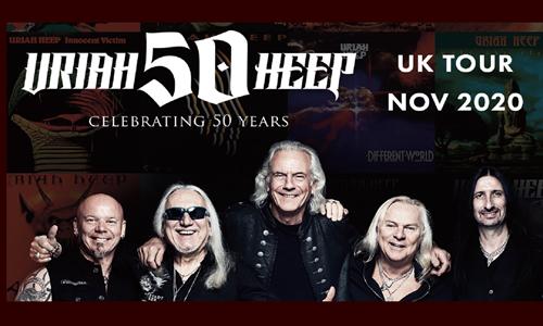 Uriah Heep 50th Anniversary