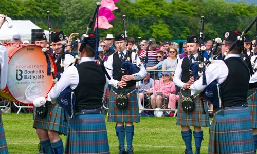 Peoples Ford Boghall & Bathgate Caledonia Pipe Band with Tryst