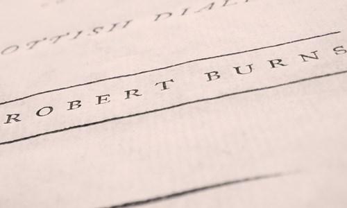 Robert Burns in Books-what research tells us