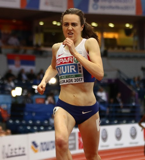 European Athletics Indoor Championships at Emirates Arena image