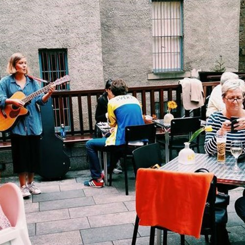 Brutti Compadres Courtyard