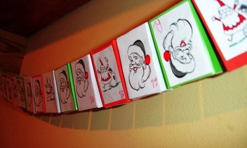 Make your own Advent Calendar!