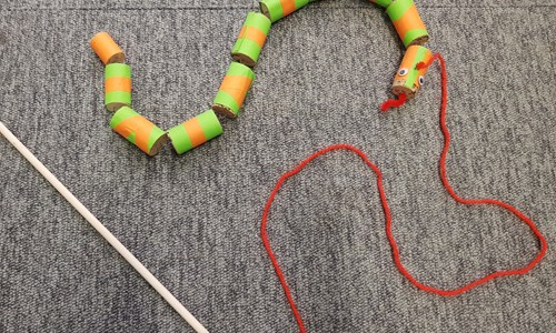 Make a Wiggly Snake