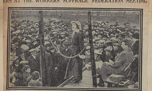 Pop-up Display: Glasgow Women's Suffrage