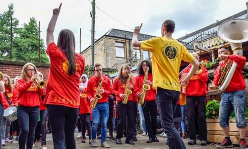 Big Music for Minis: SambaYaBamba Youth Street Band