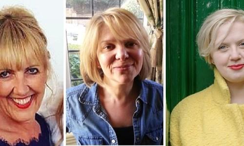 Aggie MacKenzie, Emma Marsden and Angela Clutton