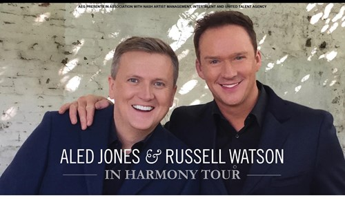 Aled Jones and Russell Watson In Harmony Tour