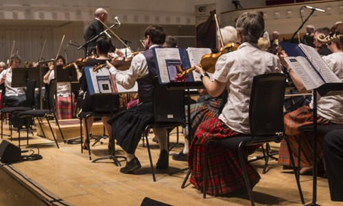 The Caledonian Fiddle Orchestra