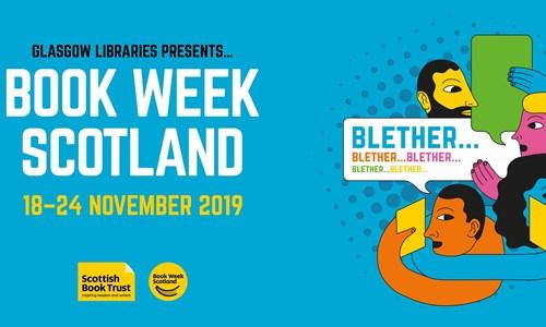 Book Week Scotland BIG BLETHER @ Elder Park Library