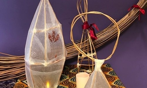 Festive Willow Lanterns