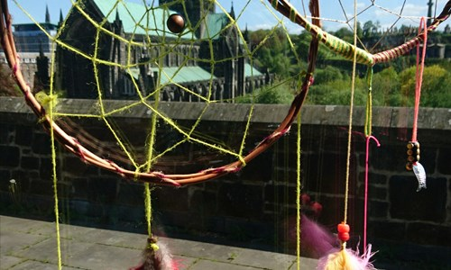 Dream Catchers and Storytelling Mobiles