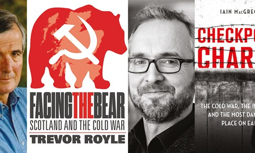Trevor Royle and Iain MacGregor, Checkpoint Charlie, Scotland and the Cold War