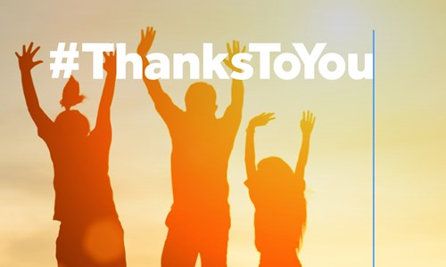 #ThanksToYou National Lottery Campaign