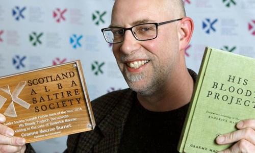 Book Week Scotland: Graeme Macrae Burnet author event