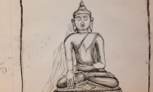 Sketch & De-Stress- Drawing calmness from the chaos of our lives