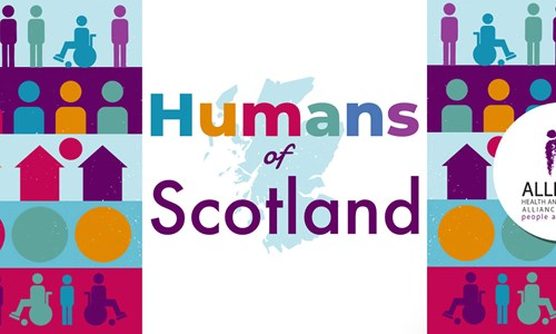 Humans of Scotland (Event at Waterstones Sauchiehall Street)