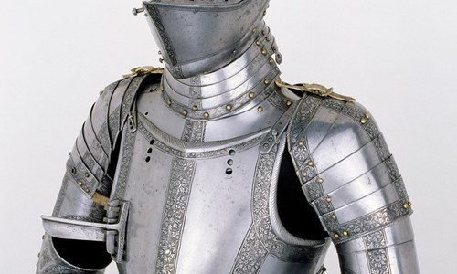 A 'Grosschedel' suit of Armour ( French and English)