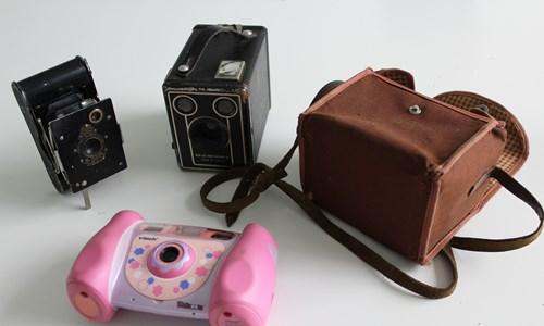 Through the Lenses: Historical Cameras