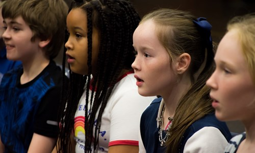 Big Music for Minis: NYCoS Big Sing for Young Voices