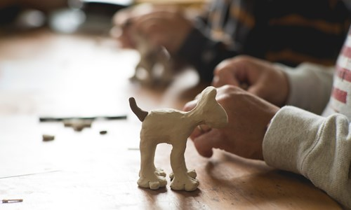 Gromit Model Making Workshop