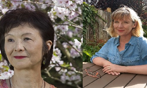 Naoko Abe and Fiona Davison