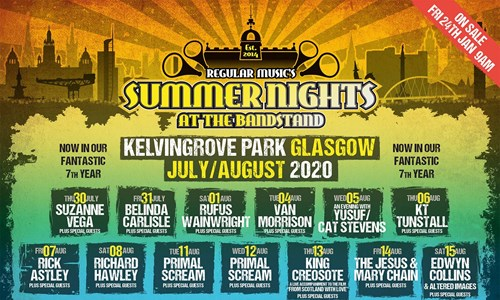Summer Nights At The Bandstand - Edwyn Collins and Altered Images
