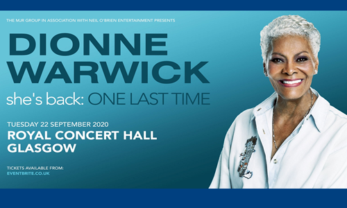 """Dionne Warwick - """"She's Back: One Last Time"""" - The Farewell Tour 2020"""