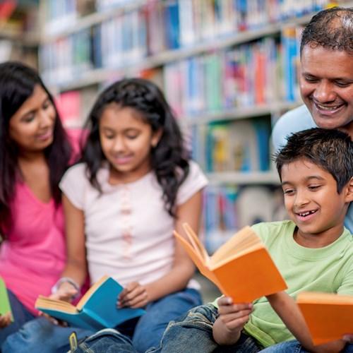 Language café families open day