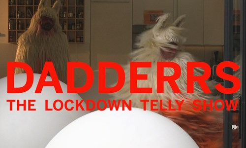 Tramway TV: Frauke Requardt & Daniel Oliver - Dadderrs The Lockdown Telly Show