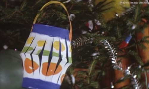 Online: Library Socials - Festive films from the Moving Image Archive