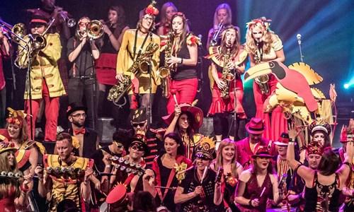 The Encontro Street Band Festival: George Square