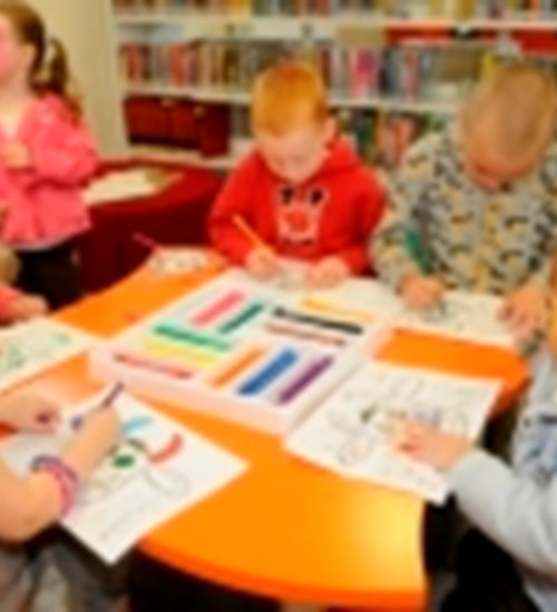Creative Saturdays at Ibrox Library image