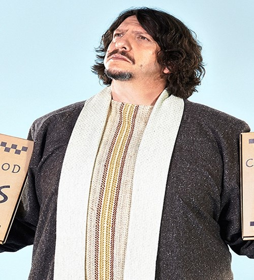 Jay Rayner: The Ten (Food) Commandments at Mitchell Theatre image